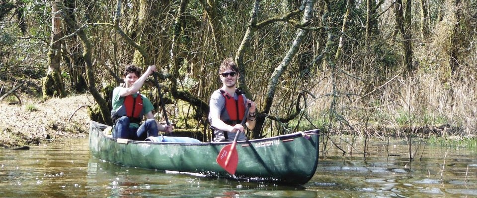 Paddling Roadford Lake with the Bude Canoe Experience